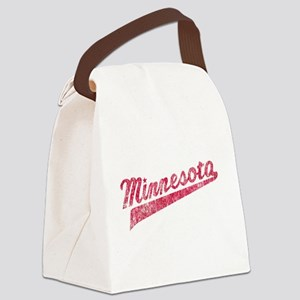 Faded Minnesota Canvas Lunch Bag