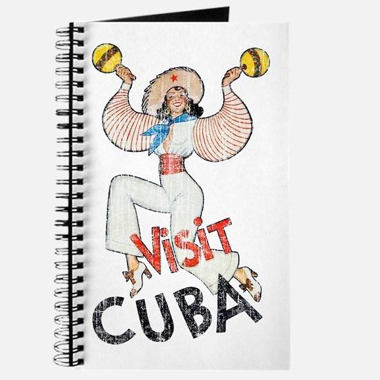 Vintage Visit Cuba Journal