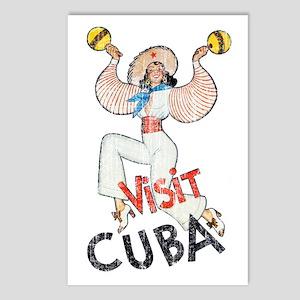 Vintage Visit Cuba Postcards (Package of 8)