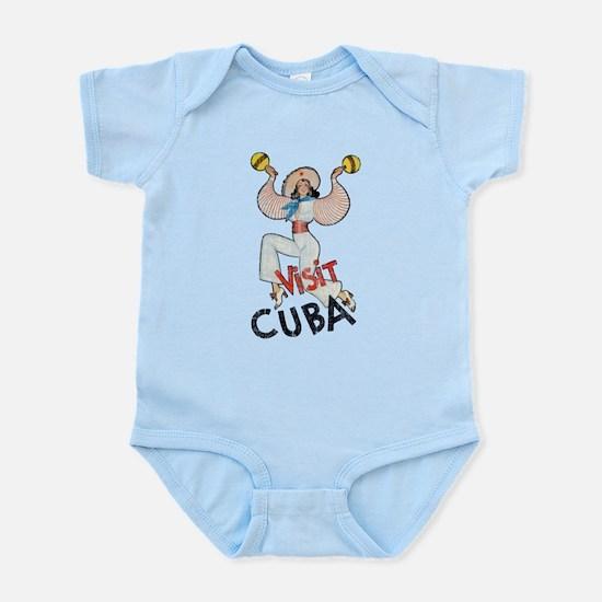 Vintage Visit Cuba Infant Bodysuit