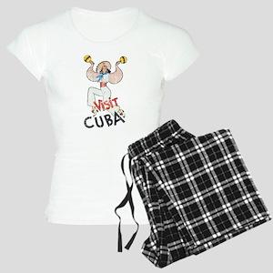 Vintage Visit Cuba Women's Light Pajamas