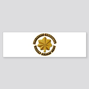 Navy - LCDR Sticker (Bumper)