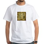 Celtic Letter G White T-Shirt