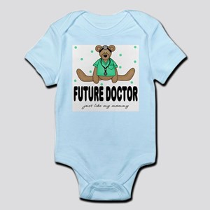 Future Doctor Like Mommy Baby Body Suit