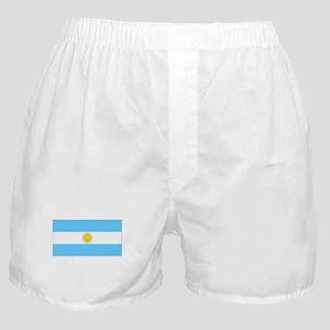 Argentina Blank Flag Boxer Shorts