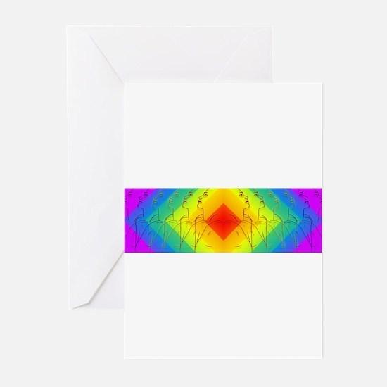 Diamond Rainbow Greeting Cards (Pk of 10)