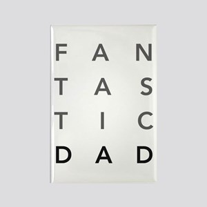 Fantastic Dad Rectangle Magnet