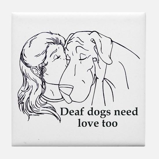 DD love too Tile Coaster