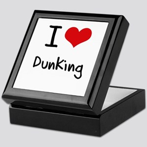 I Love Dunking Keepsake Box