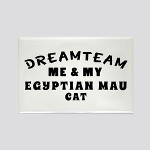 Egyptian Mau Cat Designs Rectangle Magnet