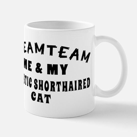 Domestic Shorthaired Cat Designs Mug