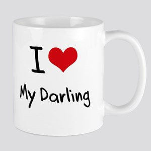 I Love My Darling Mug
