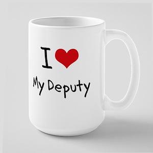 I Love My Deputy Mug