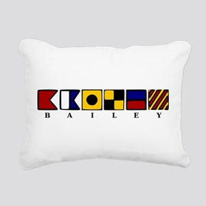 Nautical Rectangular Canvas Pillow