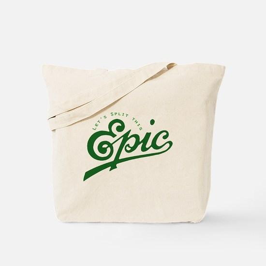 Story Split Tote Bag