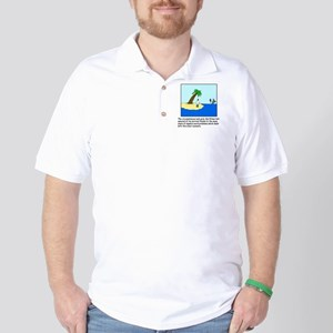 Deserted Algebra Island (C) Golf Shirt