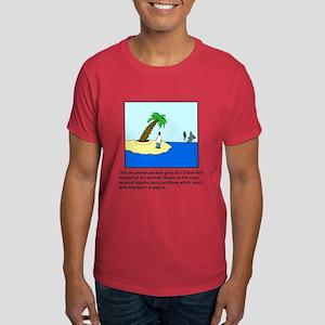 Deserted Algebra Island (C) Dark T-Shirt