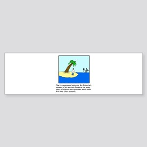 Deserted Algebra Island (C) Sticker (Bumper)