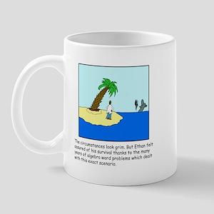 Deserted Algebra Island (C) Mug