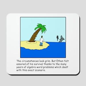 Deserted Algebra Island (C) Mousepad