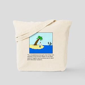 Deserted Algebra Island (C) Tote Bag