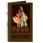Little Clowns Sketch Journal