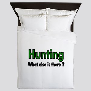 Hunting. What else is there? Queen Duvet