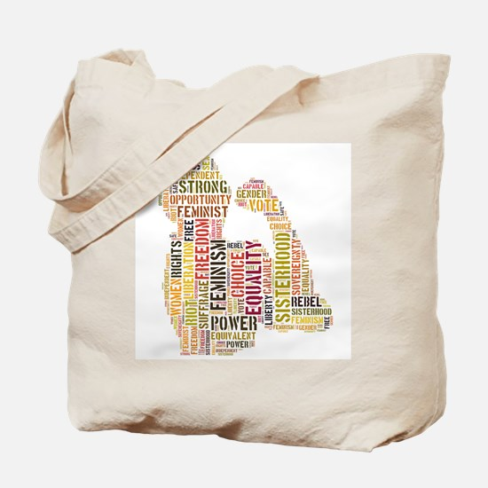 Cool Feminist Tote Bag