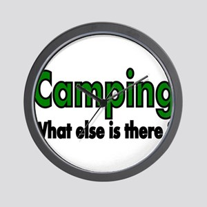Camping. What else is there? Wall Clock