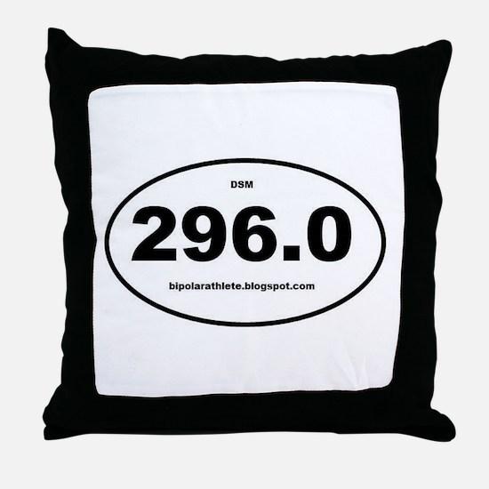 Bipolar Athlete DSM 296.0 Throw Pillow