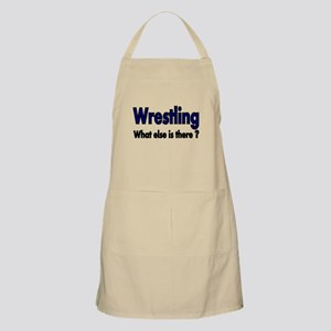Wrestling. What esle is There? Apron
