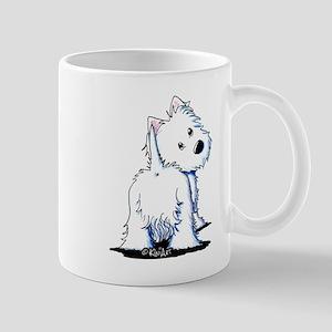 KiniArt Fluffybutt Westie Mug