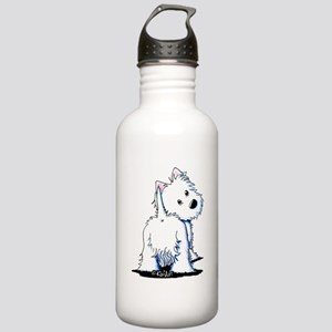 KiniArt Fluffybutt Wes Stainless Water Bottle 1.0L