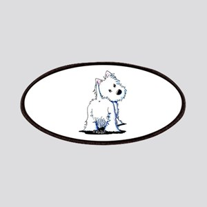 KiniArt Fluffybutt Westie Patches