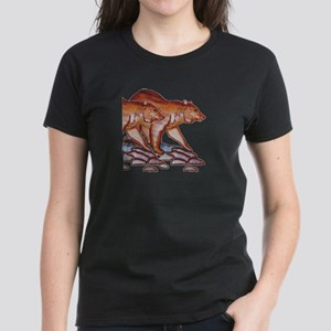 TWIN WILDERNESS BEARS Women's Dark T-Shirt