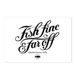 'Fish fine' Postcards (Package of 8)