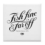 'Fish Fine' Tile Coaster