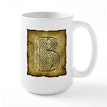 Celtic Letter B Large Mug