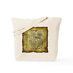 Celtic Letter B Tote Bag