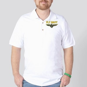 Fly Navy Golf Shirt