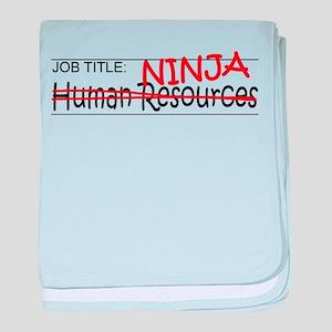 Job Ninja HR baby blanket