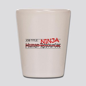 Job Ninja HR Shot Glass