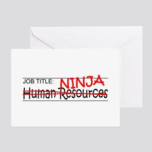 Job Ninja HR Greeting Card