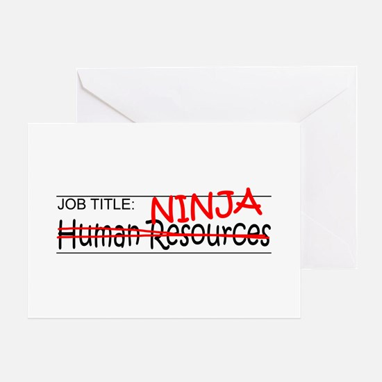 Job Ninja HR Greeting Card