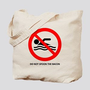 Spoon Bacon Tote Bag