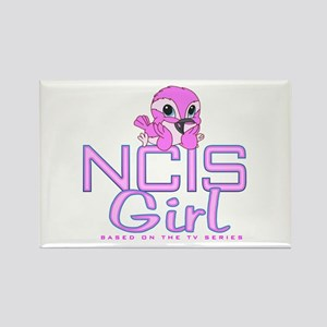 NCIS Girl Rectangle Magnet