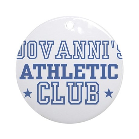 Jovanni Ornament (Round)