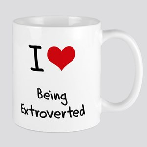 I love Being Extroverted Mug