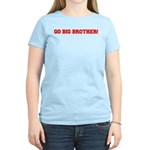Go Big Brother Women's Pink T-Shirt