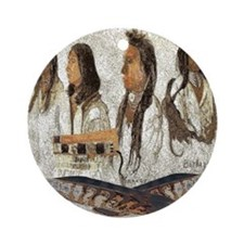 Indian Portraits Ornament (Round)